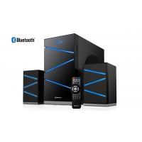 Акустическая система REAL-EL M-410  Bluetooth, FM, USB, SD