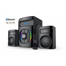 Колонки REAL-EL M-375 44Вт, Bluetooth, USB, SD, FM, ДУ