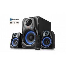 Колонки 2.1 REAL-EL M-380 32Вт, Bluetooth,USB,SD,FM