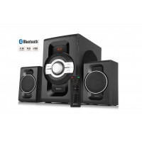 Колонки 2.1 REAL-EL M-590 60Вт, Bluetooth, USB, SD, FM