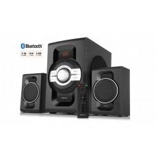 Колонки 2.1 REAL-EL M-590 60Вт, Bluetooth, USB, SD, FM
