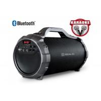 Колонка REAL-EL X-750 bluetooth, караоке