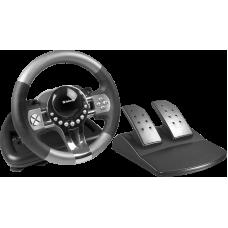 Игровой руль Defender Forsage GTR USB