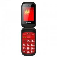 Бабушкофон Телефон BRAVIS CLAMP (red)