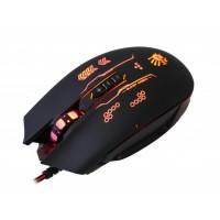 Мышь проводная игровая A4tech Q80B Gunfire Bloody