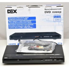 Плеер DVD + USB DEX DVP 274