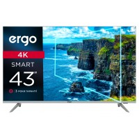 "43"" LED-телевизор ERGO 43DUS6000 4K Smart TV Уценка"