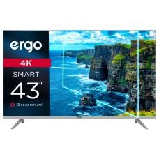 "43"" LED-телевизор ERGO 43DUS7000 4K Smart TV Уценка"