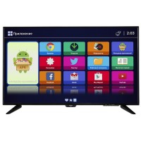 "LED-телевизор 43"" Smart TV, Wi-Fi, ERGO LE43CT3500AK"