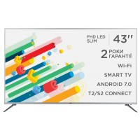 "Телевизор 43"" ERGO LE43CT5515AK SmartTV"