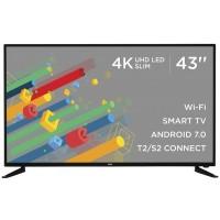 """LED-телевизор 43"""" Smart TV, Wi-Fi, ERGO LE43CT6550AK"""