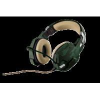 Гарнитура TRUST GXT 322C Dynamic Headset green camouflage