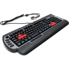 Клавиатура игровая A4Tech X7 G800MU PS/2