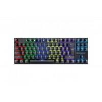 Клавиатура REAL-EL M28 TKL RGB USB механическая игровая с подсветкой