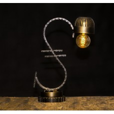 Лампа в стиле лофт. Гривна . Авторская работа