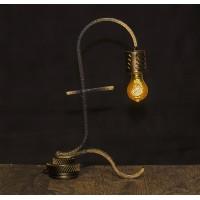 Лампа в стиле лофт. Фунт . Авторская работа