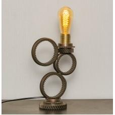 Лампа в стиле лофт. Три кольца от мудрых эльфов