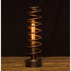 Декоративная настольная лампа стимпанк лофт Small Spring