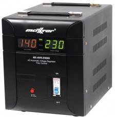Симисторный стабилизатор напряжения Maxxter 5000 ВА MX-AVR-D5000-01