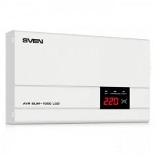Настенный стабилизатор напряжения Sven AVR SLIM-1000 LCD